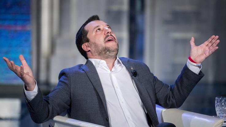 """Tav, Salvini a Chiomonte: """"Meglio andare avanti e finirlo piuttosto che chiuderlo"""""""