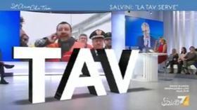 """Tav, Salvini da Chiomonte: """"Finire i lavori costa meno che riempire i buchi fatti"""""""
