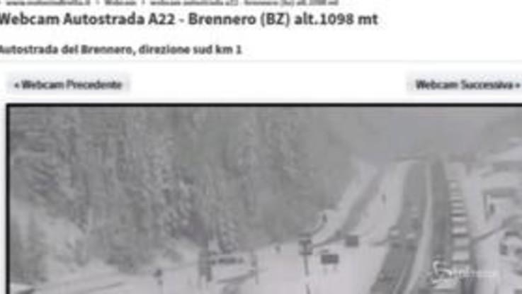 Caos al Brennero: autostrada chiusa e mezzi bloccati da ore