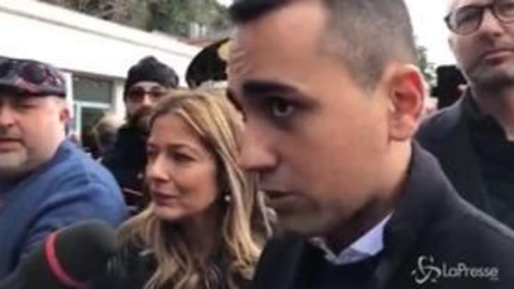"""Abruzzo, Di Maio: """"In questa regione Salvini ha scelto Berlusconi"""""""