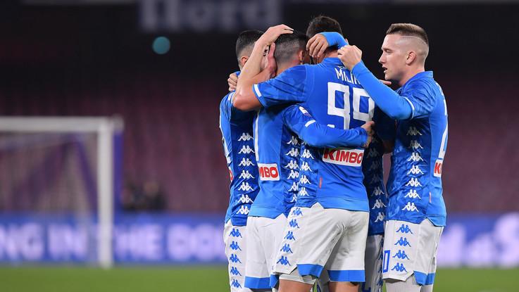 Serie A, Napoli-Sampdoria 3-0   Il fotoracconto