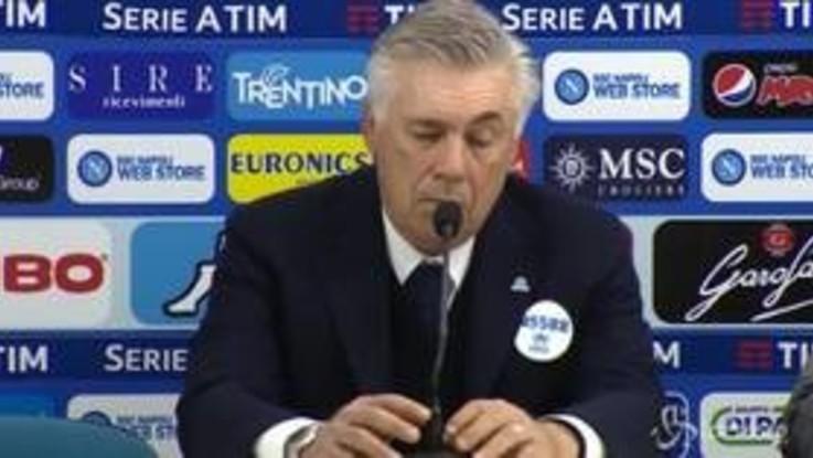"""Ancelotti: """"Hamsik vuole partire, non possiamo dirgli no"""""""