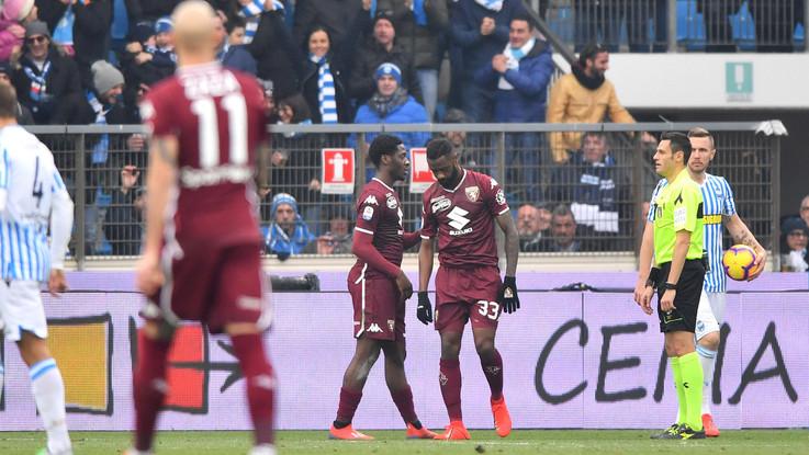 Serie A, agonismo e noia, 0-0 tra Spal e Torino. Espulso Nkoulou