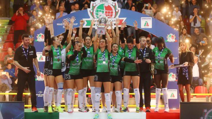 Volley femminile, Sassuolo batte Mondovì e vince la Coppa Italia A2