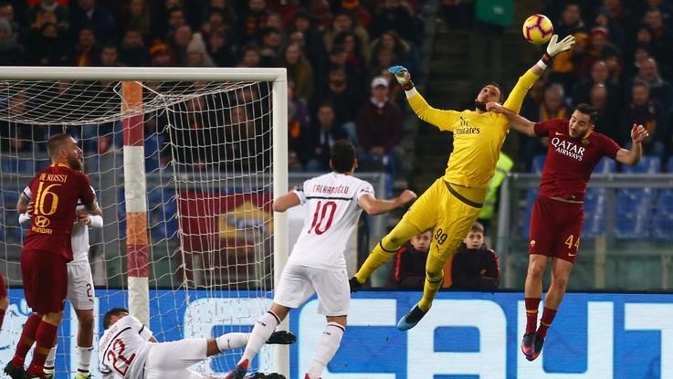 Serie A, Roma-Milan 1-1 | Il Fotoracconto