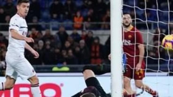 Serie A, Roma-Milan finisce in pareggio