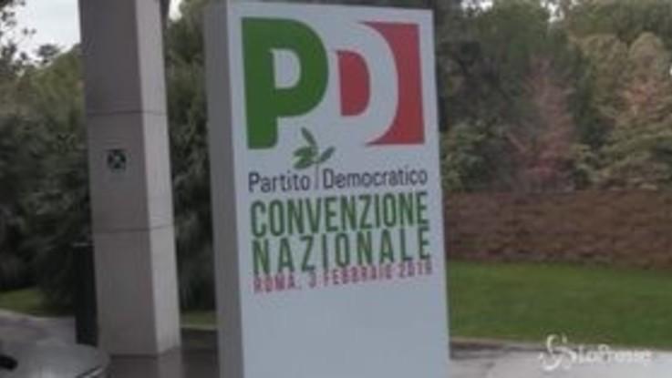 Pd, Zingaretti, Martina e Giachetti in corsa alle primarie