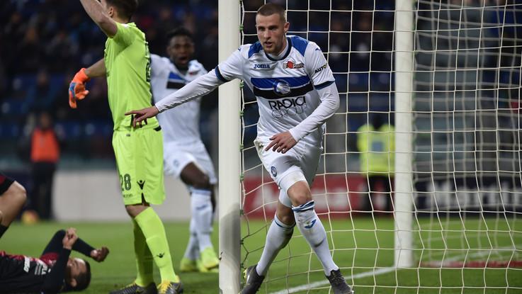 Atalanta, vittoria a Cagliari e quinto posto in classifica