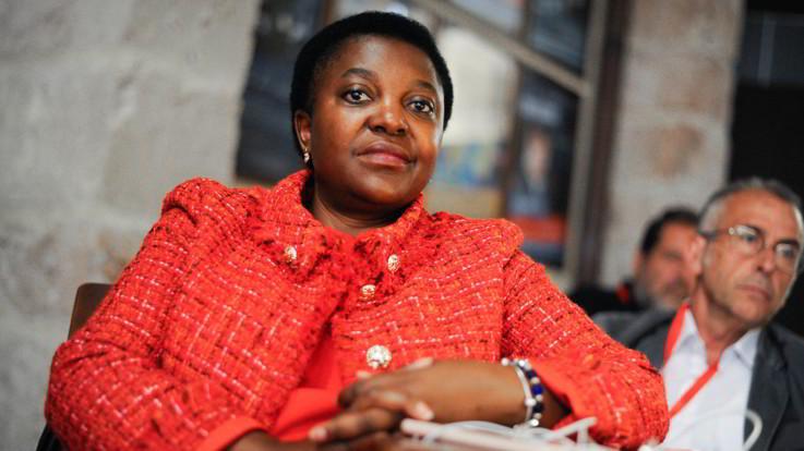 """Il marito si candida con la Lega, Cecile Kyenge: """"Stiamo divorziando"""""""