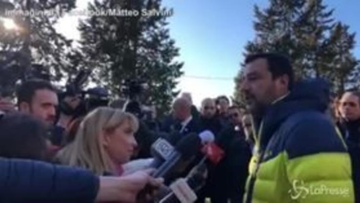 """Venezuela, Salvini: """"Maduro è un delinquente che affama il suo popolo"""""""