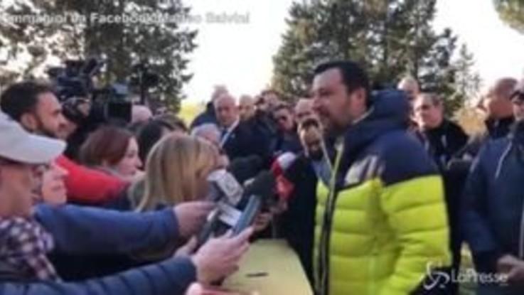"""Caso Diciotti, Salvini: """"Dormo tranquillo, ho difeso la sicurezza del Paese"""""""