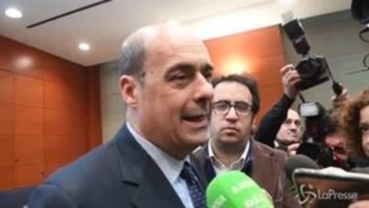 """Savona presidente Consob, Zingaretti: """"Sei mesi di governo persi"""""""