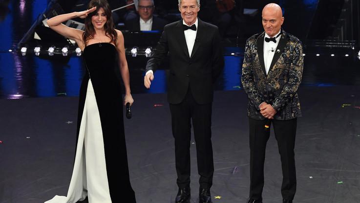 Sanremo, al via la 69ma edizione: la prima serata tra i big, Emozionano i Bocelli e Giorgia