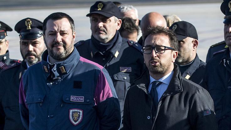 Video su Battisti, la procura di Roma chiede l'archiviazione per Salvini e Bonafede