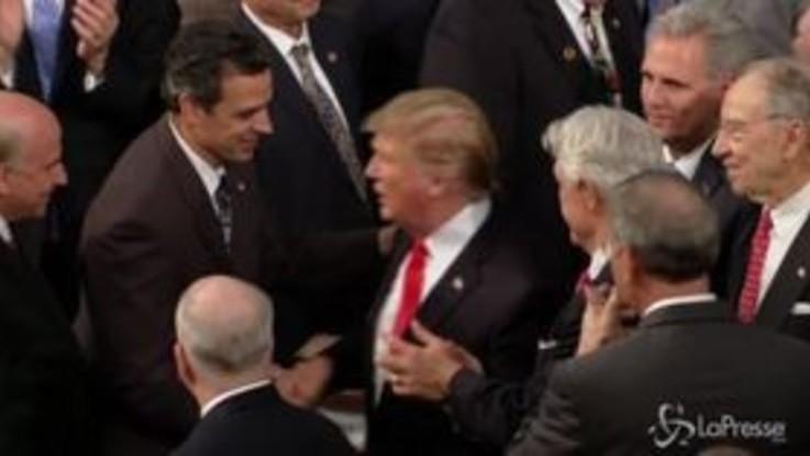 Usa, Trump si appella all'unità durante il discorso sullo Stato dell'Unione