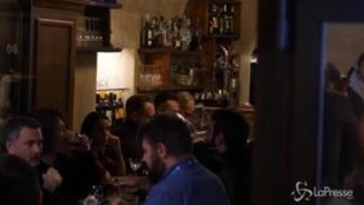 Sanremo, relax a tavola per gli artisti dopo la seconda serata