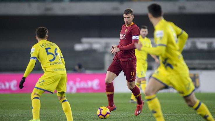 Serie A, Chievo-Roma 0-3 | Il Fotoracconto