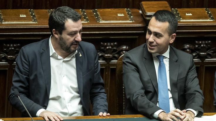 """Di Maio e Salvini: """"I vertici di Bankitalia e Consob sono da azzerare"""""""