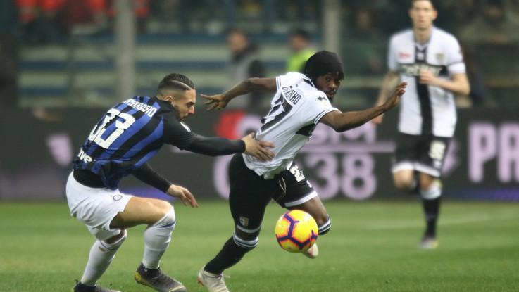 Serie A, Parma-Inter 0-1 | Il Fotoracconto