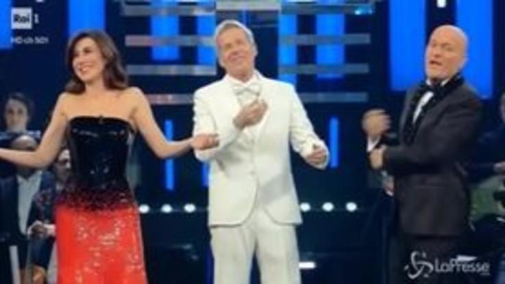 Sanremo, il meglio della finale in un minuto