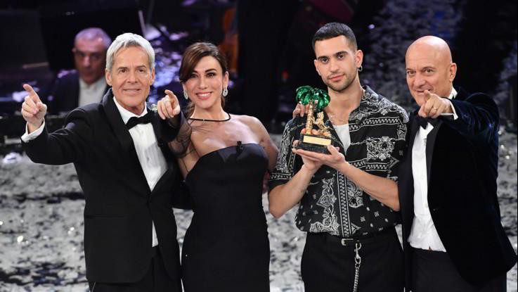 Sanremo, share al 56,5 con 10,6 milioni di spettatori. In calo sul 2018