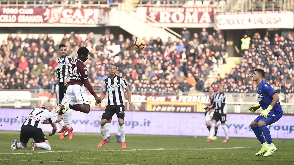 Gol di Aina, Torino in vantaggio ©