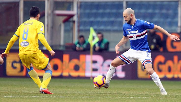 Serie A, Sampdoria-Frosinone 0-1 | Il fotoracconto