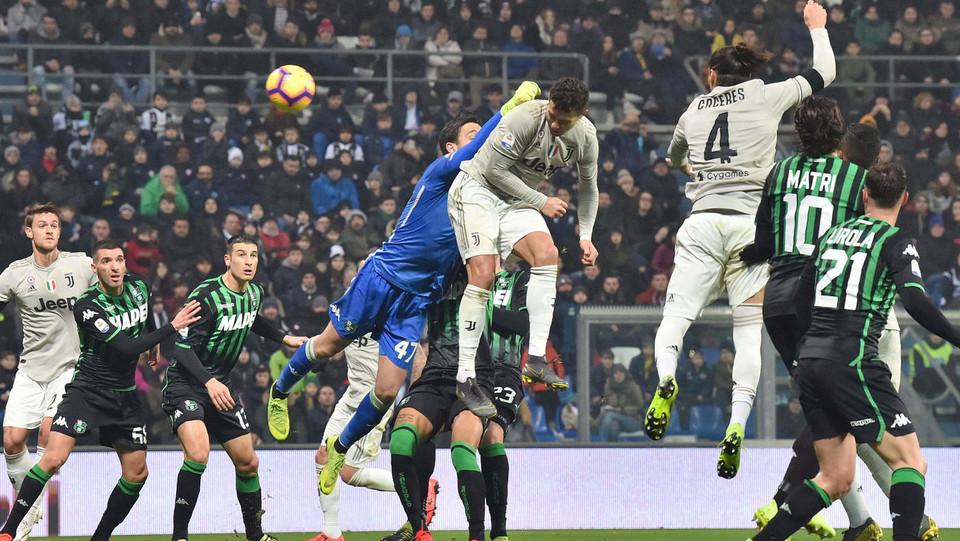 Ronaldo fa 2-0 da corner di Pjanic ©