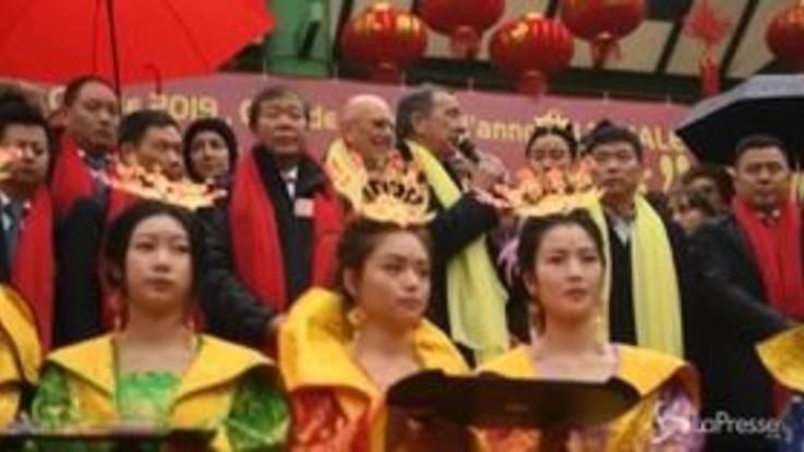 Milano, le immagini della parata cinese per festeggiare il Capodanno