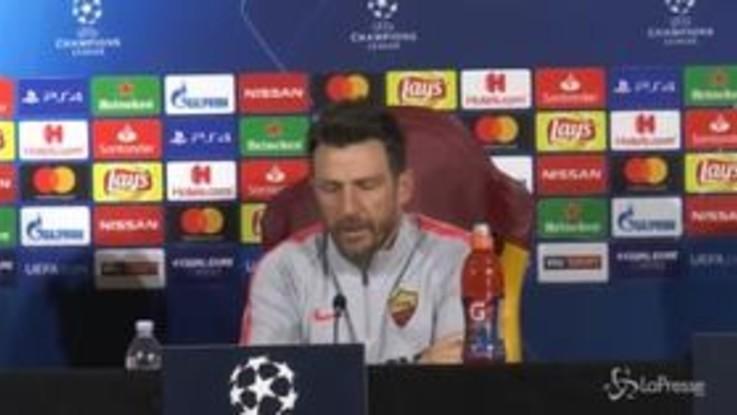 """Champions League, Di Francesco: """"Bella occasione per riportare entusiasmo"""""""