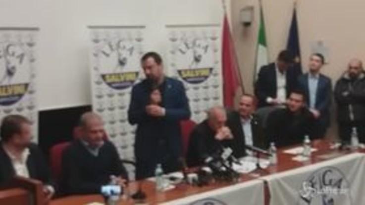 """Regionali Abruzzo, Salvini: """"Non ci sarà alcuna ripercussione sul governo"""""""