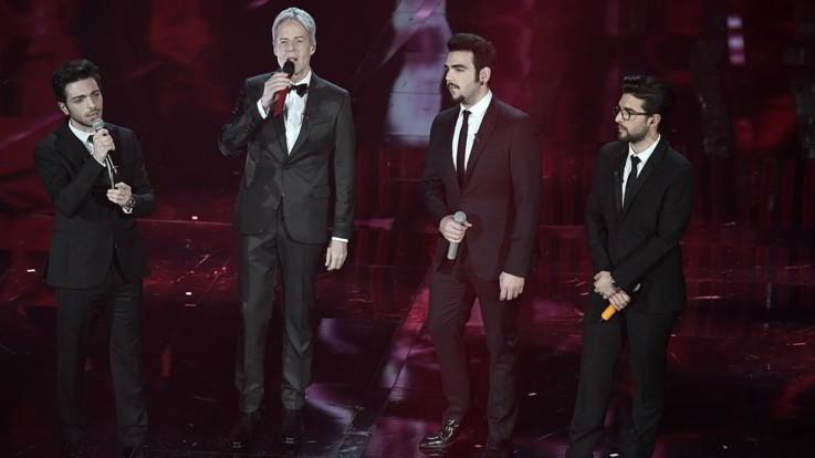 """Sanremo, Il Volo: """"Bullizzati da alcuni giornalisti, la musica è libertà"""""""