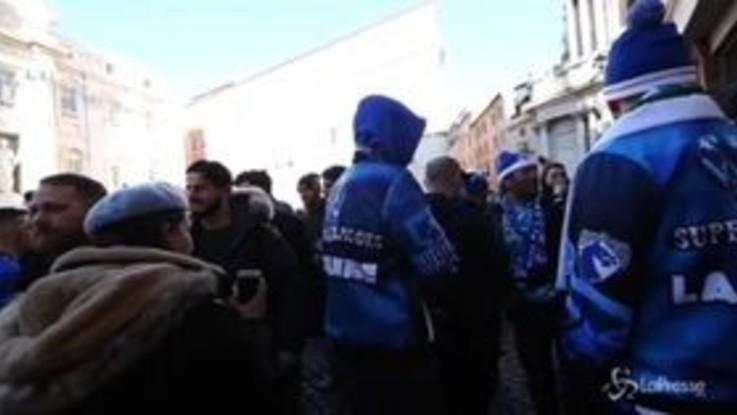 Champions, il centro di Roma invaso dai tifosi del Porto