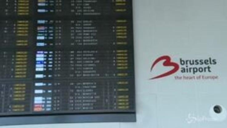Sciopero traffico aereo: Belgio paralizzato