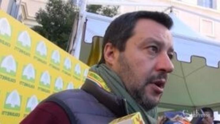 """Pastori sardi, Salvini: """"Il prezzo del latte non può essere di 60 centesimi al litro"""""""