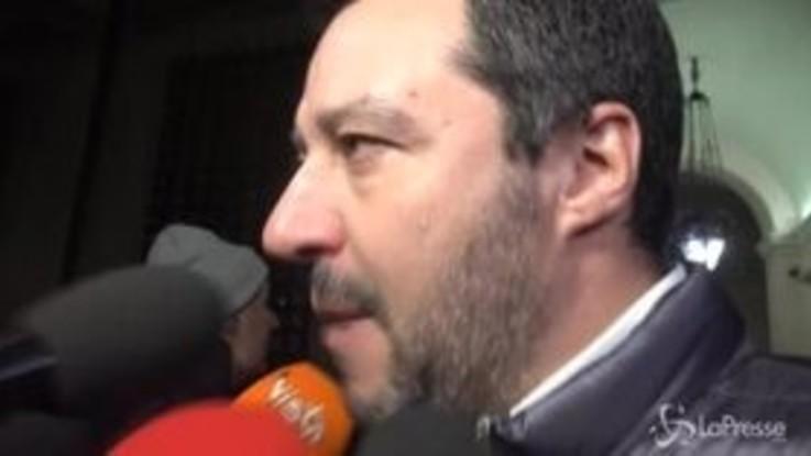 """Pastori sardi, Salvini: """"Ogni litro di latte buttato per terra è una ferita al cuore"""""""
