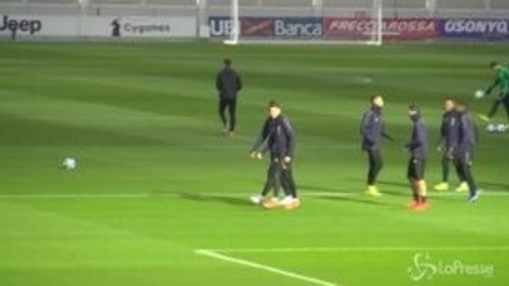Serie A: la Juventus in campo con il Frosinone aspettando la Champions