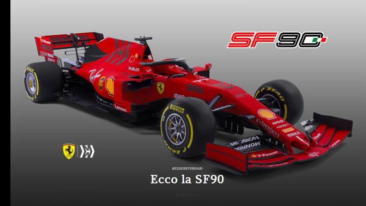 Più pesante e con le ali più larghe, ecco la Ferrari SF90