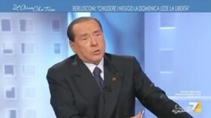 "Berlusconi: ""Ogni tanto manderei a quel paese Salvini"""