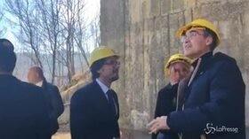 """Riapre viadotto sulla E45, Toninelli: """"Speriamo che a breve tornino anche i mezzi pesanti"""""""
