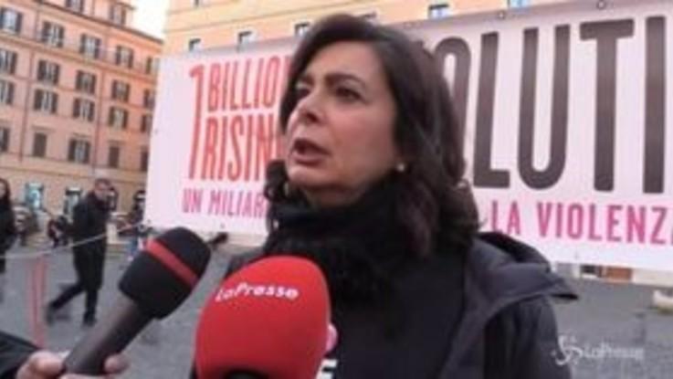 """Boldrini: """"Pensiero a Sana e alle donne senza giustizia"""""""