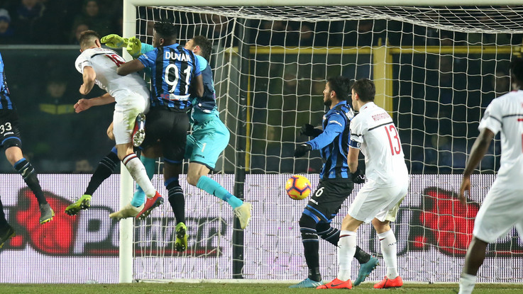 Piatek: doppietta mostruosa, il Milan va. Atalanta ribaltata: 1-3