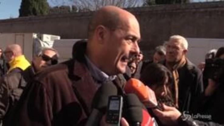 """Primarie Pd, Zingaretti: """"Voglio costruire un partito nuovo"""""""