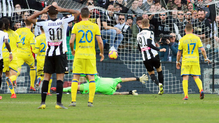 Serie A, Var e Teodorczyk condannano il Chievo: Udinese vince 1-0
