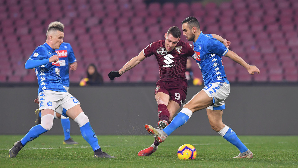 Belotti e Maksimovic ©