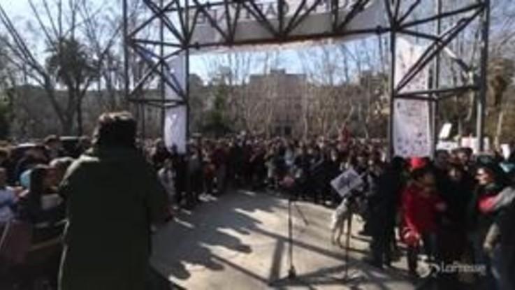 """""""Roma Capitale Umana"""", la manifestazione per la tutela dei diritti umani"""