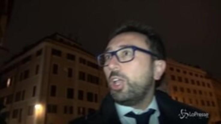 """Caso Diciotti, Bonafede: """"Governo mai stato in dubbio"""""""