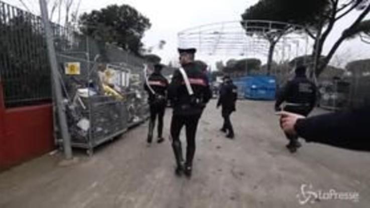 Roma, traffico illecito di rifiuti: 23 arresti