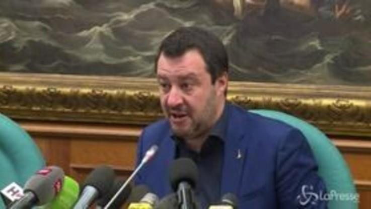 """Diciotti, Salvini agli iscritti M5s: """"Grazie per la fiducia"""""""