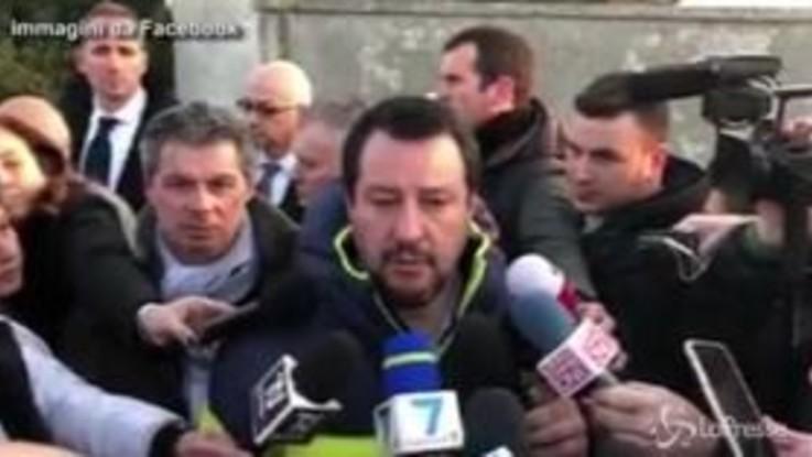 """Salvini: """"Bella giornata, non per la giunta ma per le mazzate alla mafia"""""""